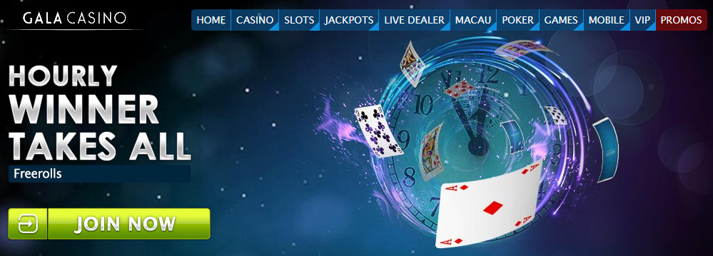 GalaCasino Additional offers / features: Speed and Twister Poker