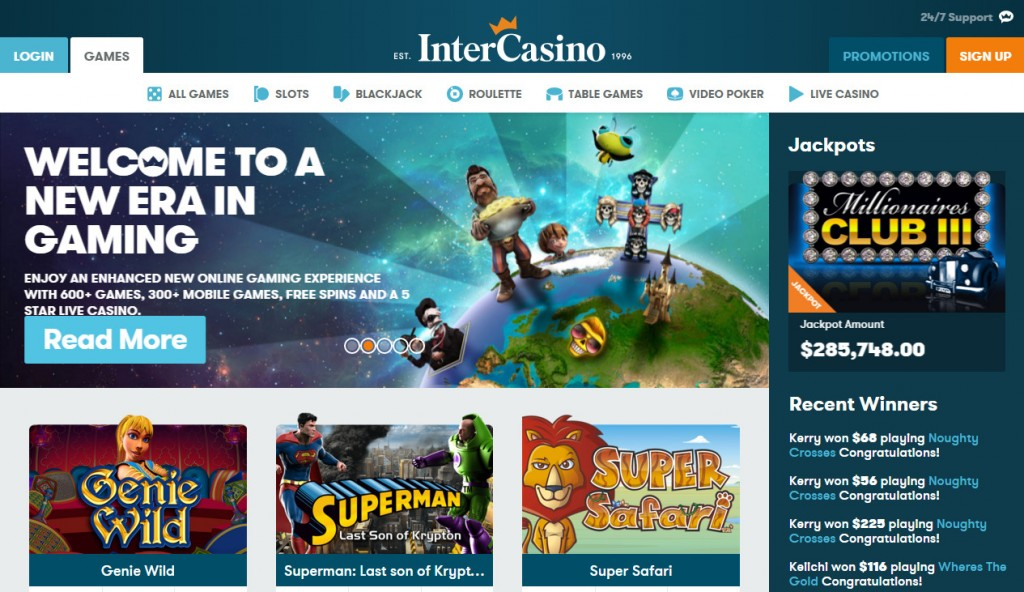 InterCasino Our experience in tourism - is the InterCasino fraud?