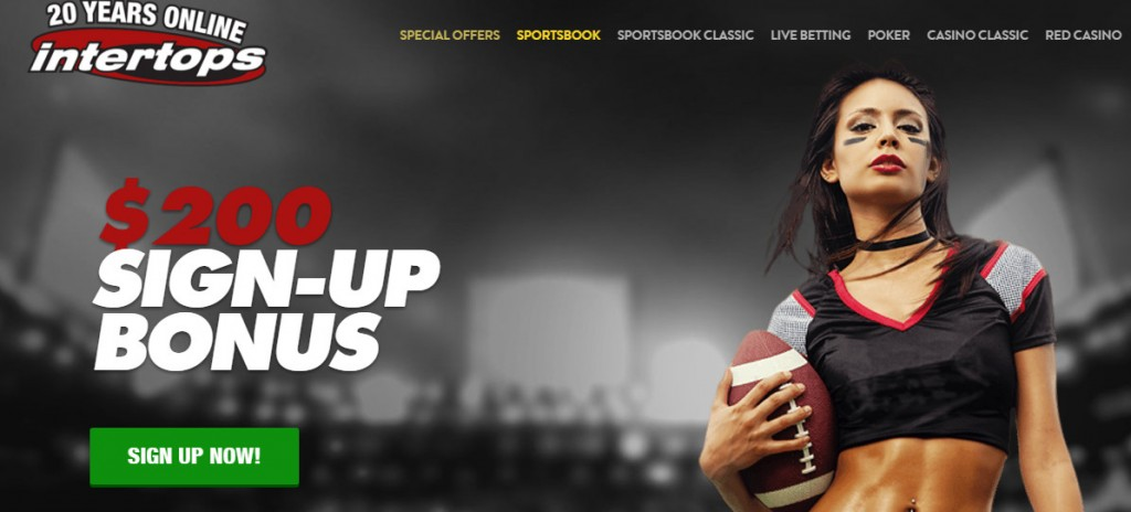 Intertops Casino Bonus - Different offers for Classic and Red