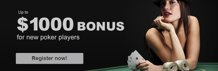 Mybet Poker Bonus - 200% up to $ 1000