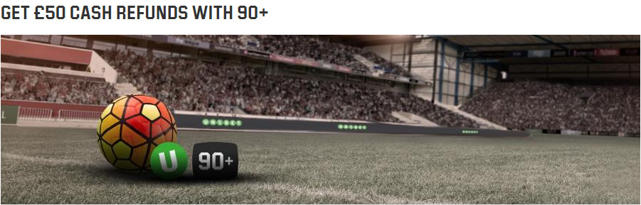 Unibet Betting Bonus - 100% up to 50 Euro