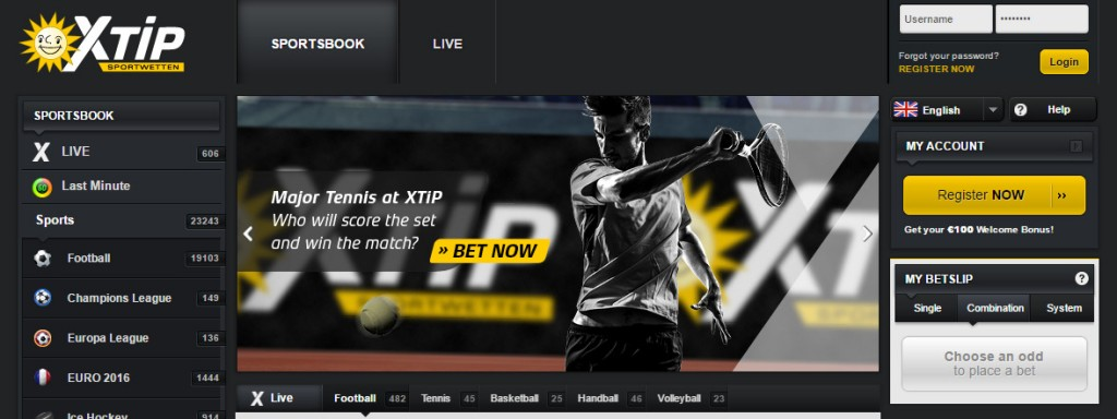 X-tip Bet Offer: football and hockey in a class
