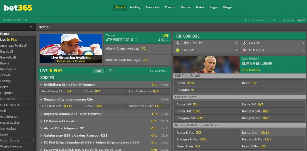 bet365 The main criteria for the test