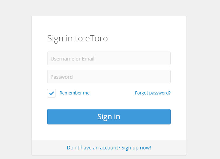 How to open an eToro trading account?